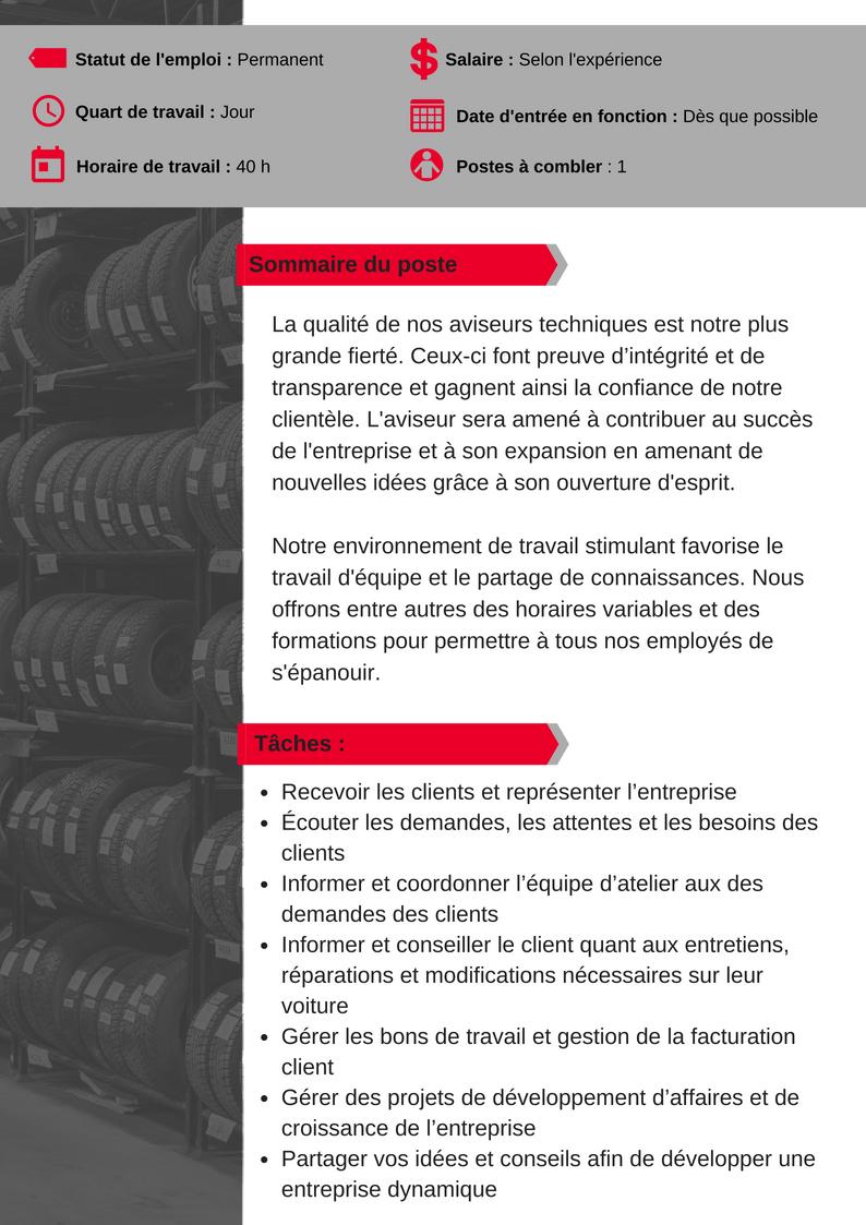 OFFRE D'EMPLOI_CLICKTIRE-Aviseur technique 1